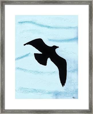 Jonathan - The  -seagull Framed Print