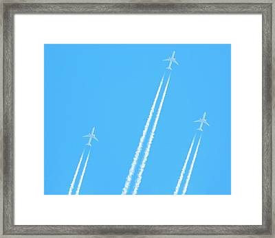 Soaring In The Heavens - Harpers Ferry Wva Framed Print by Emmy Marie Vickers