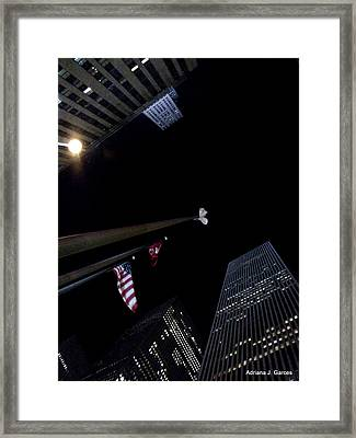 Soaring Infinitely Framed Print by Adriana Garces