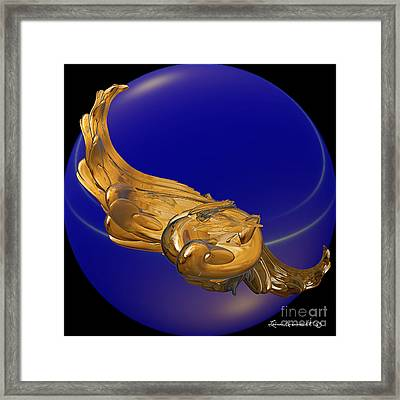 Soaring Framed Print by Leona Arsenault