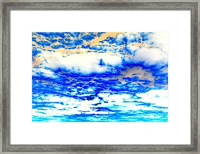 Framed Print featuring the photograph Soaring Sea by Christine Ricker Brandt