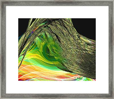 Soaring Wing Framed Print by Thomas Bryant