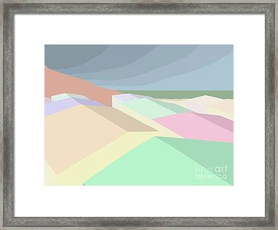 Socal Rooftops Framed Print