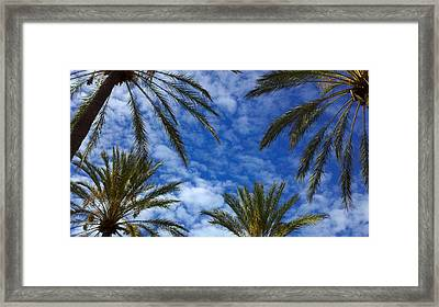 Framed Print featuring the photograph So Cal Sky by Richard Stephen