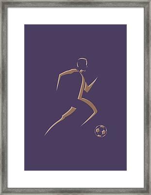 Soccer Player3 Framed Print