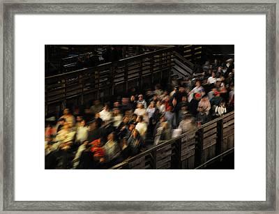Social Currents Framed Print by Scott Lenhart