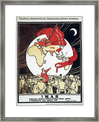 Socialist Revolution, 1917 Framed Print by Granger