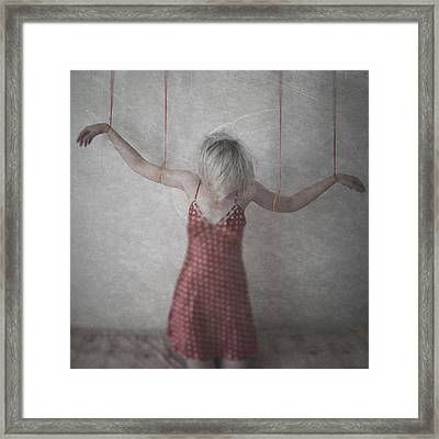 Society Game Framed Print by Anca Magurean