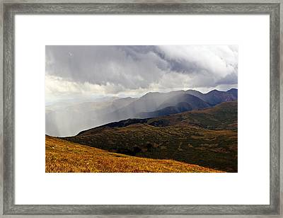 Socked In Framed Print by Dominic DiNardo