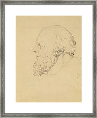 Socrates Framed Print by William Blake