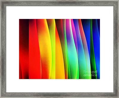 Soda Framed Print by Gayle Price Thomas