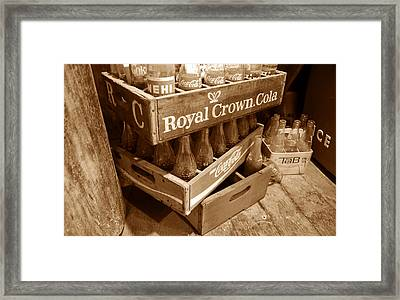 Soda In The Corner Framed Print by David Lee Thompson