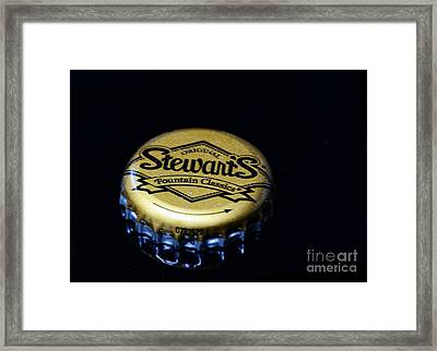 Soda - Stewarts Root Beer Framed Print by Paul Ward