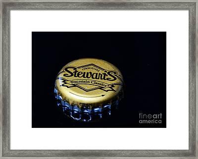 Soda - Stewarts Root Beer Framed Print