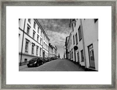 Sodermalm Sweden Framed Print