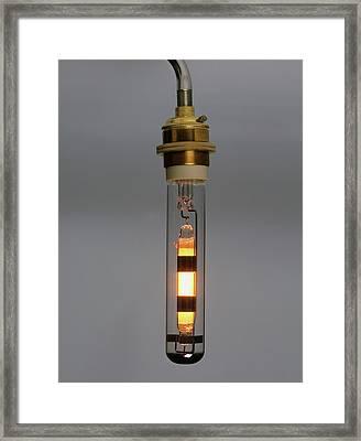 Sodium Lamp Framed Print by Dorling Kindersley/uig