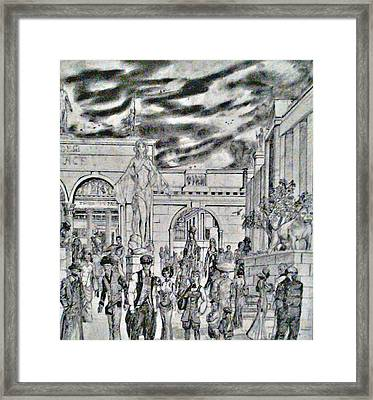 Sodom Marketplace   Framed Print