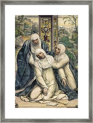 Sodoma, Giovanni Antonio Bazzi Framed Print