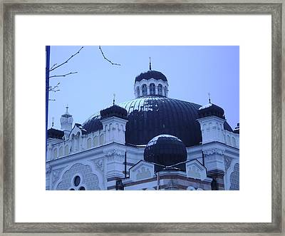 Sofia Synagogue In Bulgaria Framed Print