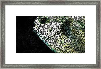 Sofishticated - Fish Art By Sharon Cummings Framed Print