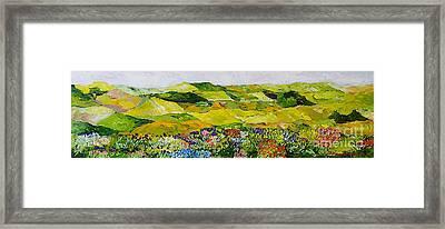 Soft And Lush Framed Print by Allan P Friedlander
