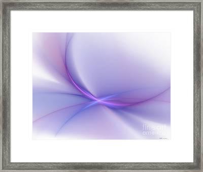 Soft Blend Framed Print by Elizabeth McTaggart