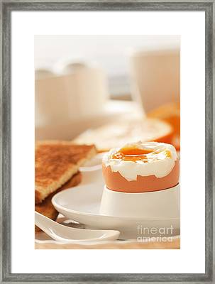 Soft Boiled Egg Framed Print