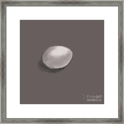 Soft Boiled Framed Print