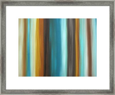 Soft Chocolate By Madart Framed Print by Megan Duncanson