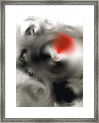 Soft Dance - Abstract Art By Sharon Cummings Framed Print