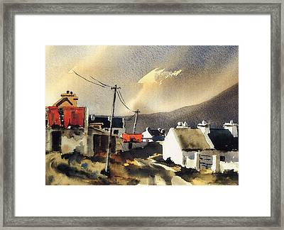 Soft Day In Achill Mayo Framed Print