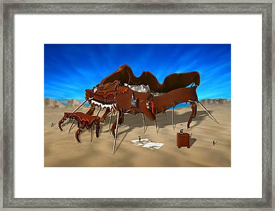 Soft Grand Piano Framed Print by Mike McGlothlen