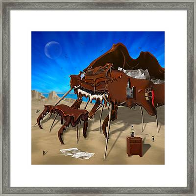 Soft Grand Piano Se 2 Framed Print