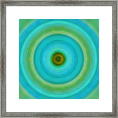 Soft Healing - Energy Art By Sharon Cummings Framed Print by Sharon Cummings