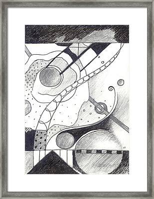 Soft Landings 1 Framed Print by Helena Tiainen