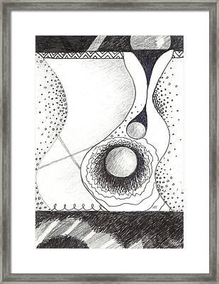 Soft Landings 2 Framed Print by Helena Tiainen