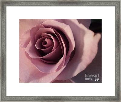 Framed Print featuring the photograph Soft Layers by Geri Glavis