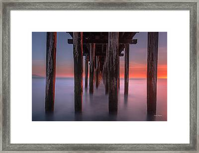 Soft Light From Starboard Framed Print