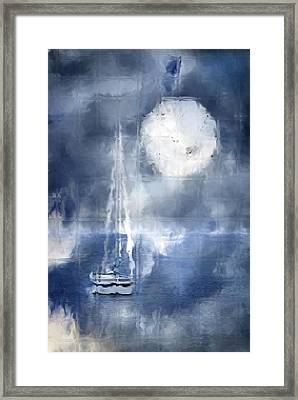 Soft Mystic Framed Print by Melissa Smith