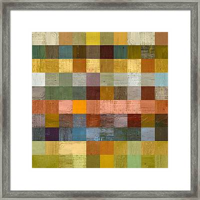 Soft Palette Rustic Wood Series Lv  Framed Print