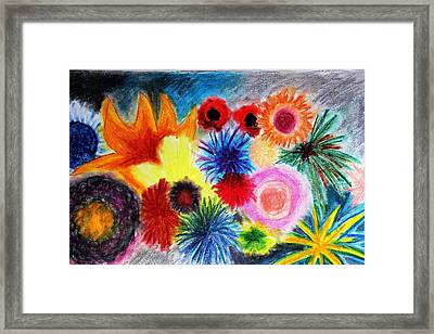 Soft Pastel  Framed Print