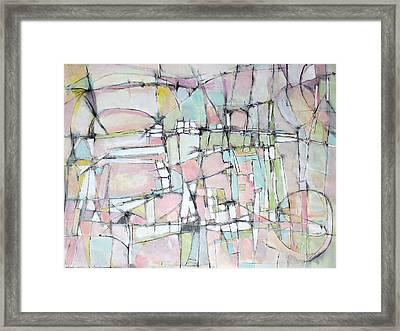 Soft Pink Morning Framed Print by Hari Thomas