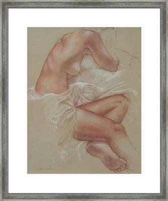 Soft Repose Framed Print