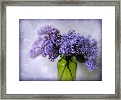 Soft Spoken Framed Print