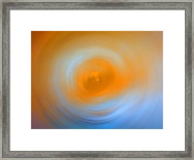 Soft Sunrise - Energy Art By Sharon Cummings Framed Print by Sharon Cummings