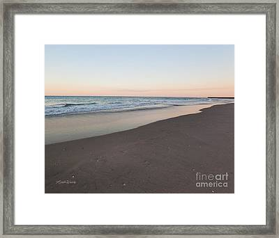 Soft Sunset Framed Print