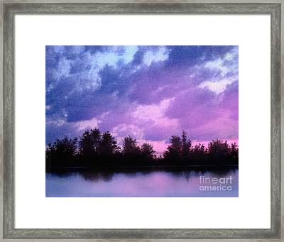 Soft Waters Framed Print by Robert Foster