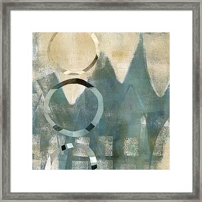 Softly Faded Framed Print by Carol Leigh