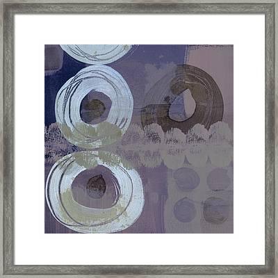 Softly Purple Framed Print by Carol Leigh