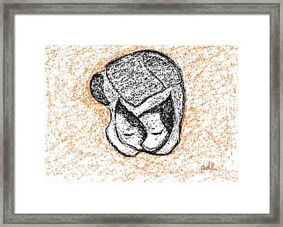 Softly Sleeping Framed Print